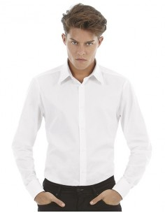 Camicia Uomo COTTON STRETCH Bianca