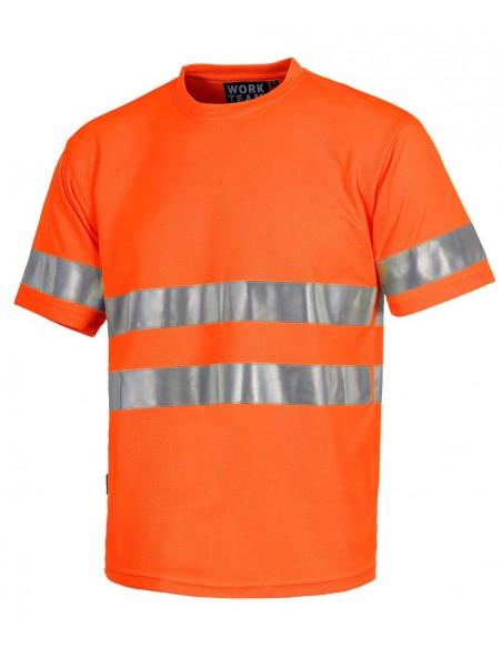 T-shirt Alta Visibilità Arancione