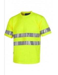 T-shirt Alta Visibilità Giallo