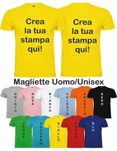 100 T Shirt Stampate col Vostro Logo