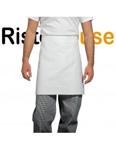 Grembiule Bianco Senza Pettorina 60x70 100% Cotone