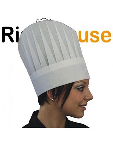 10 Pezzi Cappello Bianco in TNT