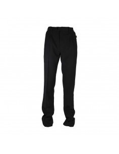Pantalone Nero Con Piences Antimacchia