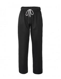 Pantalone da Cuoco Nero 100 % Cotone