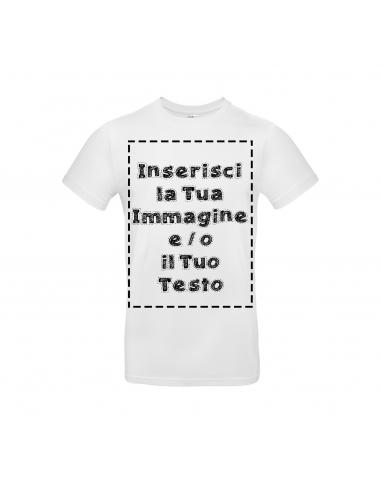 T Shirt Premium Bianca Personalizzata